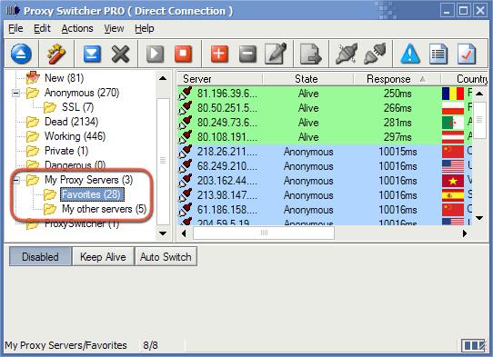 Proxy Switcher PRO 5.10.0 Build 6810 скачать бесплатно. скачать приложения